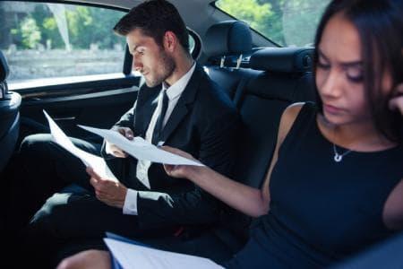 Service de transport Business pour vos rendez-vous professionnels