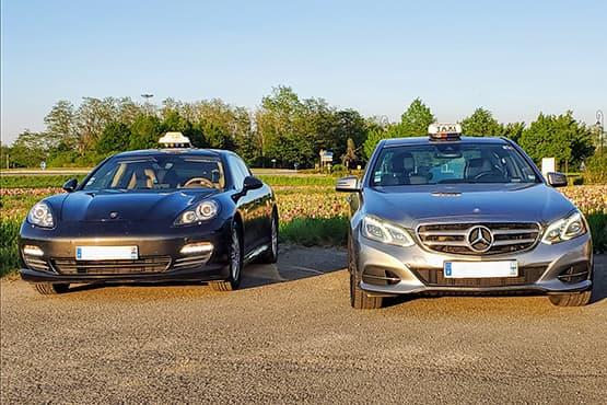 Compagnie de taxi tout confort à Mulhouse en Porsche